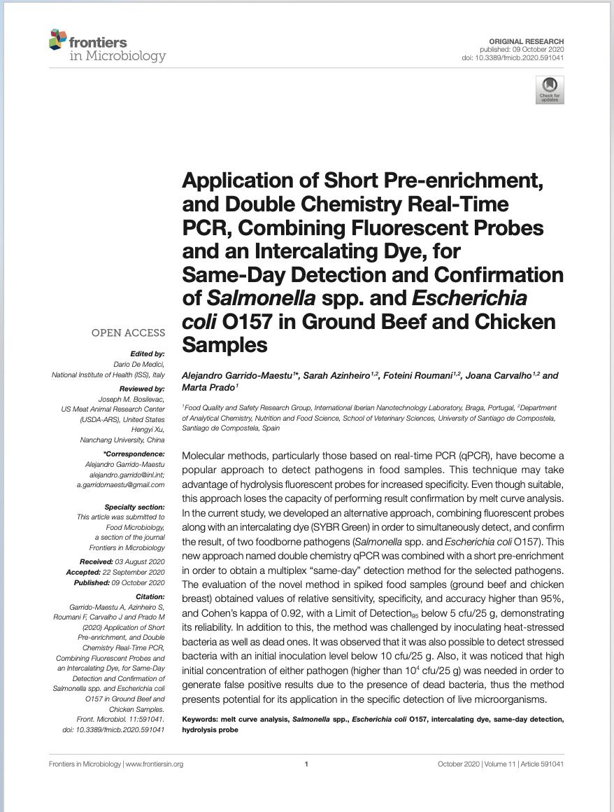 Application of Short Pre-enrichment doc