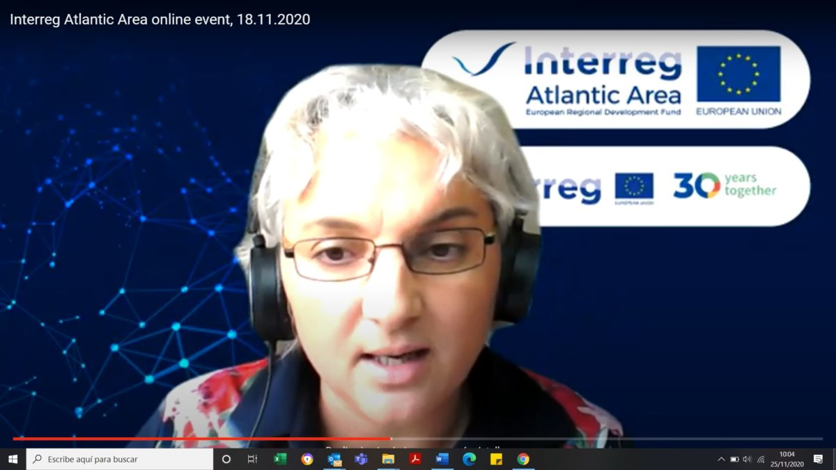 SEAFOOD-AGE takes part in the Interreg Atlantic Area Annual Event 2020